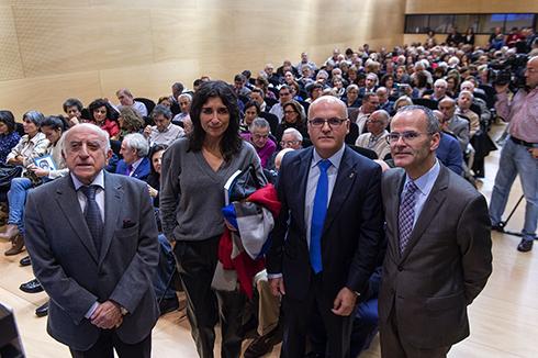 Homenaxe a Antonio Tabarés Lezcano e presentación do seu libro 'Cómo lo veo', no Centro Cultural da Deputación
