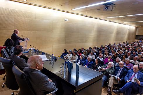 Homenaxe a Antonio Tabarés Lezcano e presentación do seu libro 'Cómo lo veo',no Centro Cultural da Deputación