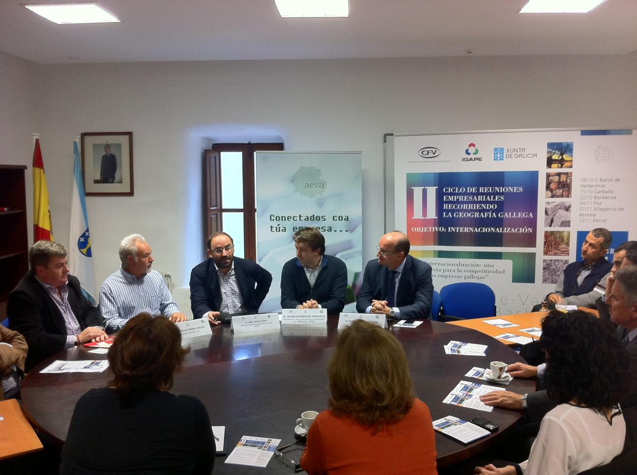 Jornada Internacionalización de las empresas gallegas. Foto Xunta
