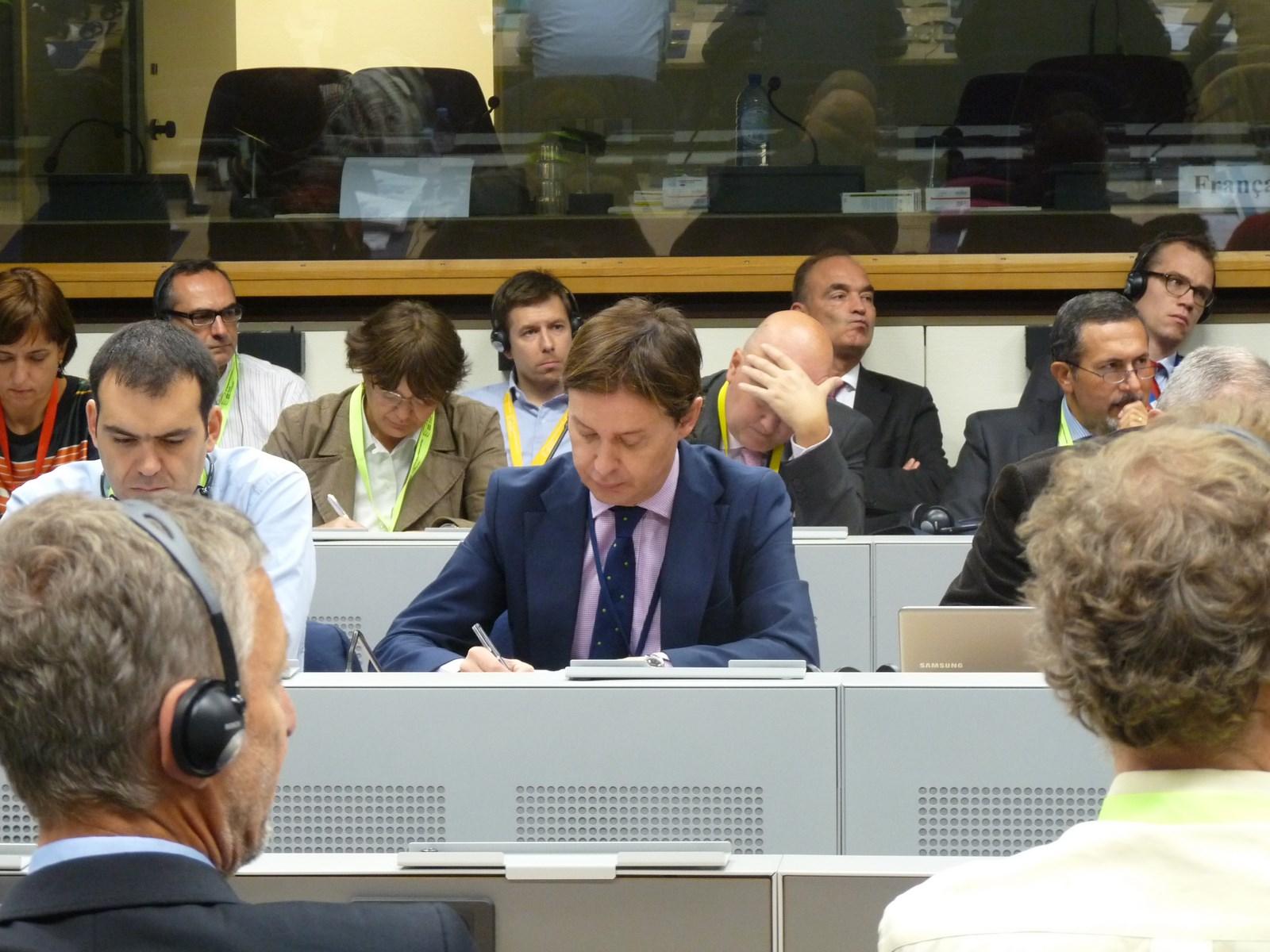 Jesús Gamallo no Seminario sobre estratexias macrorrexionais e de conca marítima na UE
