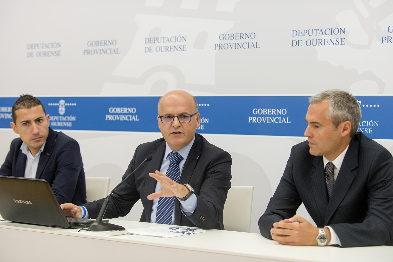 Juan Marquina, Manuel Baltar e Miguel González