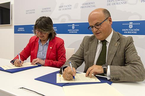 Manuel Baltar e Rosa Quintana afirman que este proxecto contribúe a vertebrar o territorio e a mellorar a calidade de vida dos habitantes do rural ourensán