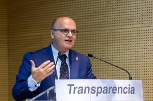 Manuel Baltar, na Xornada sobre Transparencia