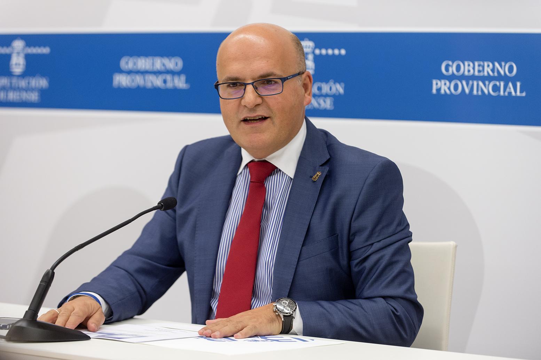 Manuel Baltar, na presentación da Xornada sobre Transparencia