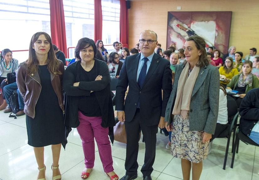 Manuel Baltar participa nas Xornadas sobre Muller e Urbanismo, no Campus de Ourense