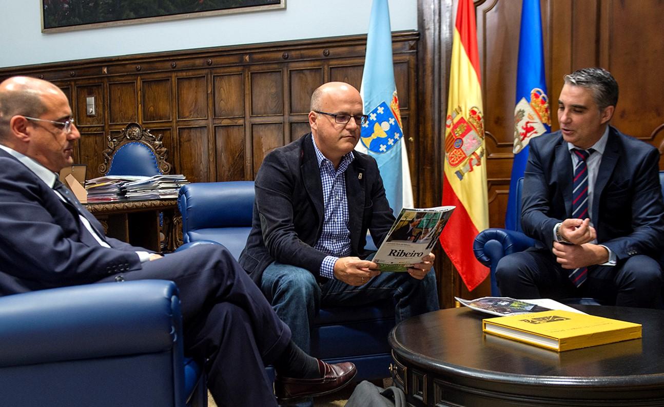 Roberto Goñi, Manuel Baltar e Miguel Ángel Viso