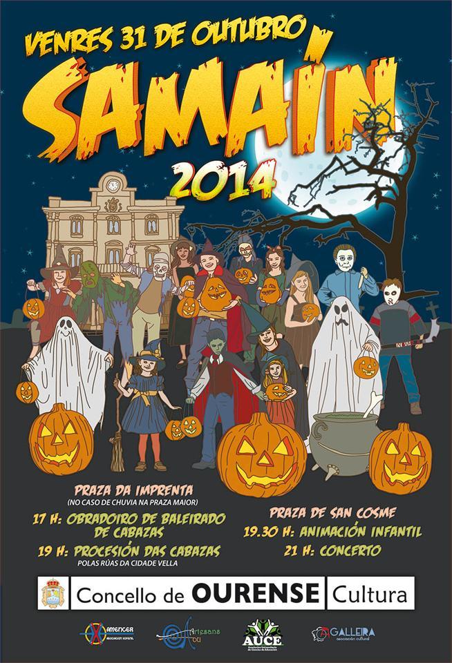 Samaín 2014 en Ourense