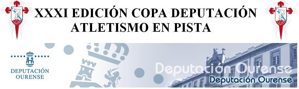 XXXI COPA DEPUTACION DE ATLETISMO EN PISTA