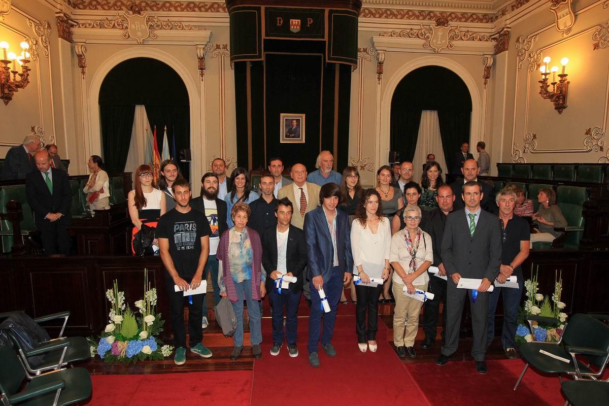 Rodrigo Domínguez Rodríguez consiguó el tercer premio dentro de los 'Premios al talento científico y artístico'