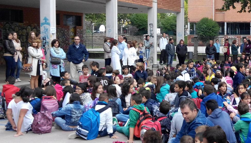 concentracion alumnos padres y profesores
