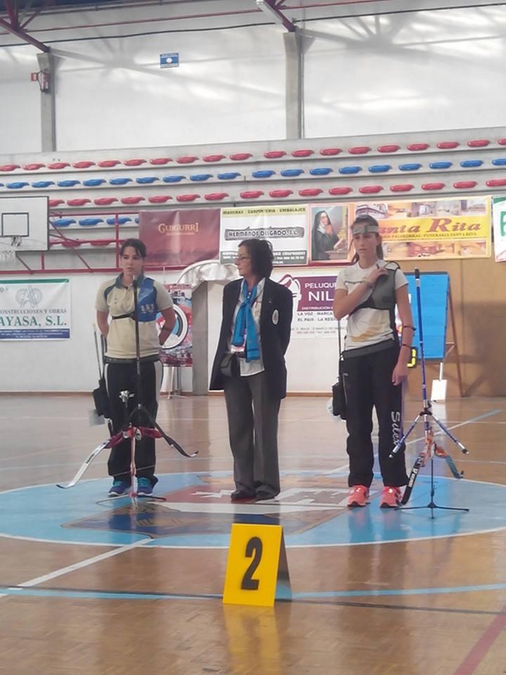 Final recurvo femenino. Foto FB ArcoBarco
