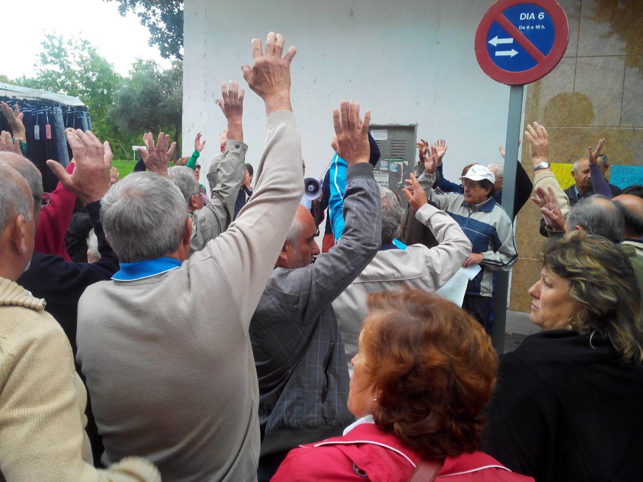 oncentración Colectivo emigrantes retornados