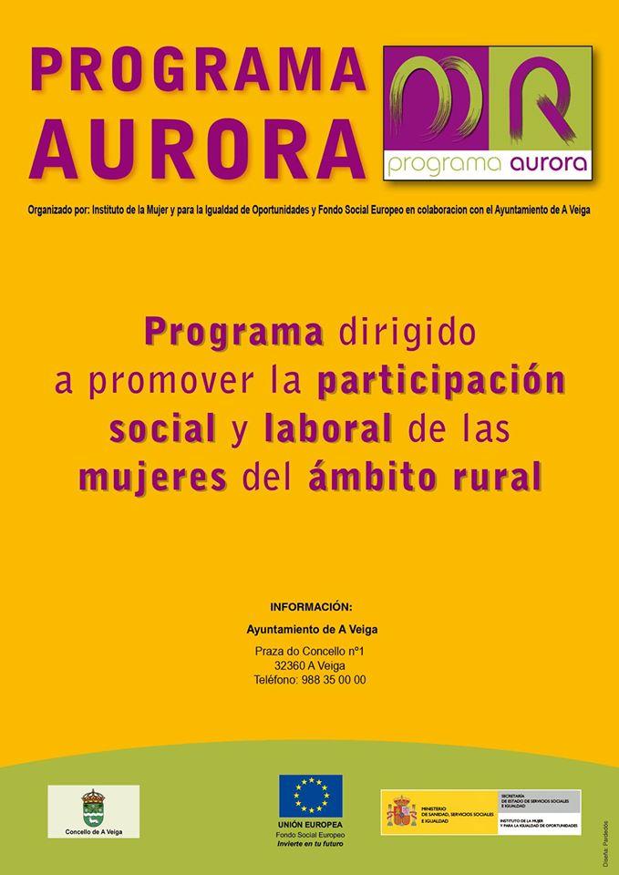Programa Aurora , Concello de A Veiga