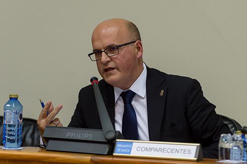 Manuel Baltar no Parlamento