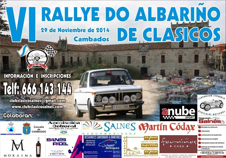 VI Rallye de Clásicos do Albariño