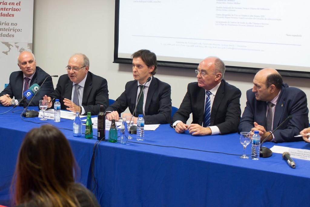 A Xunta destaca a importancia da cooperación transfronteiriza en materia sanitaria no marco da Eurorrexión