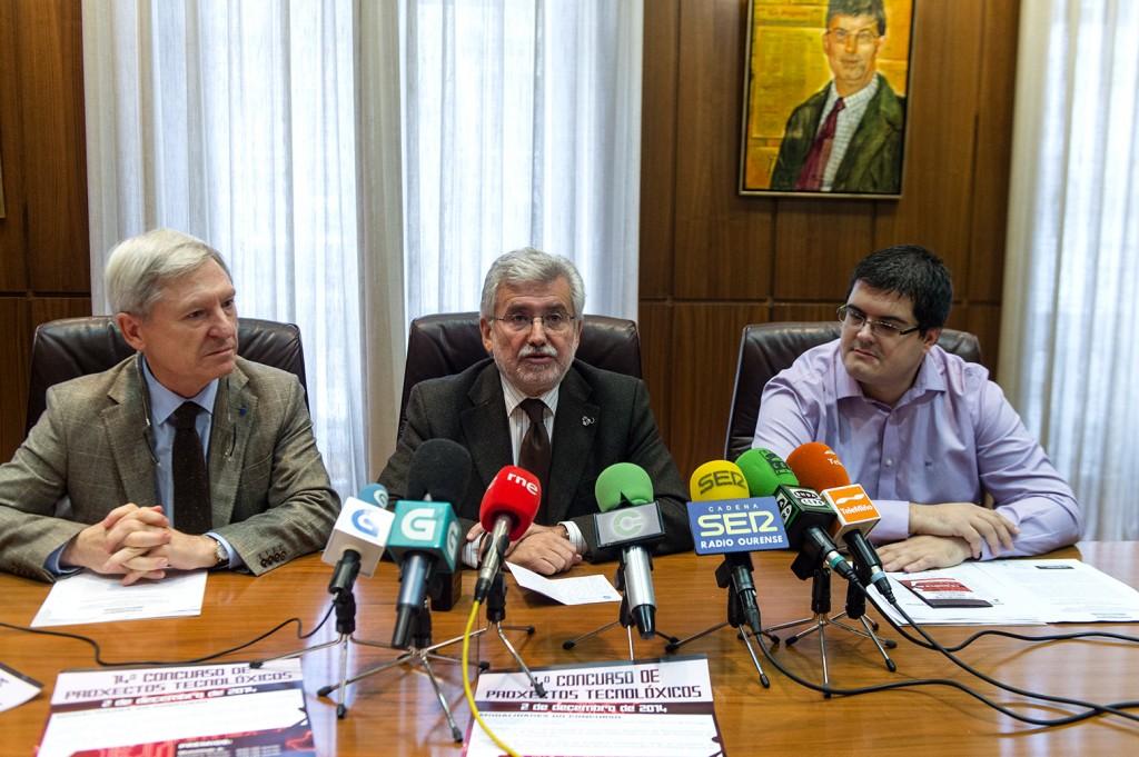 Alejandro Rubín, Rosendo Fernández e Francisco Javier Rodríguez (2)
