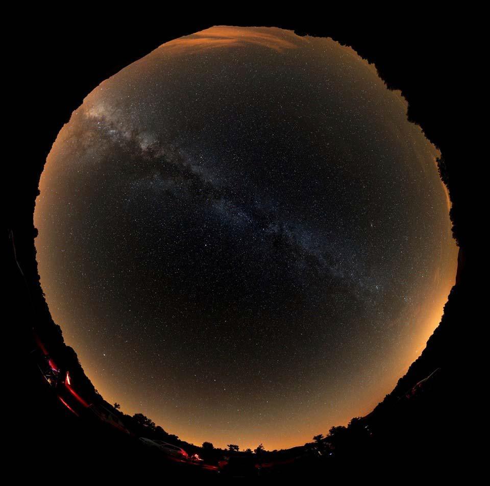 'All sky' Zona de Valdín. Fotografía: Óscar Blanco Varela