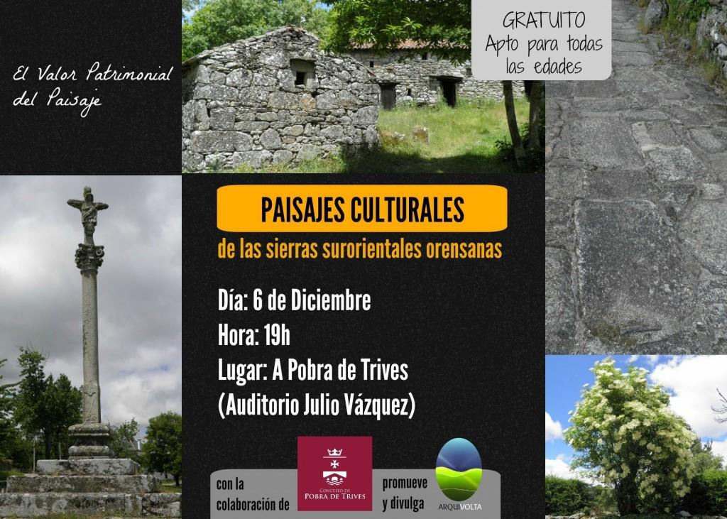 Charla Coloquio de Arquivolta sobre o valor patrimonial da paisaxe