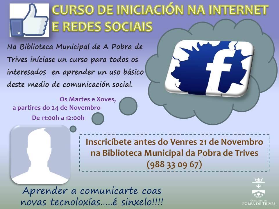Curso de iniciación a Internet e Redes Sociais