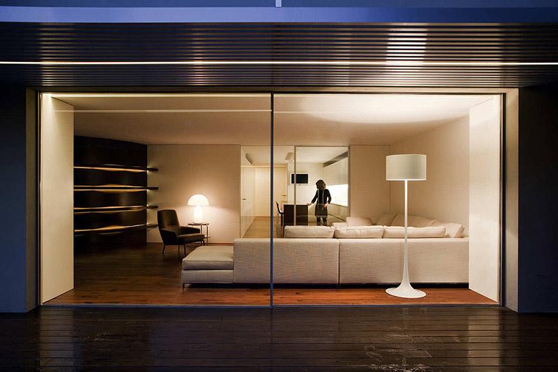Interior minimalista.