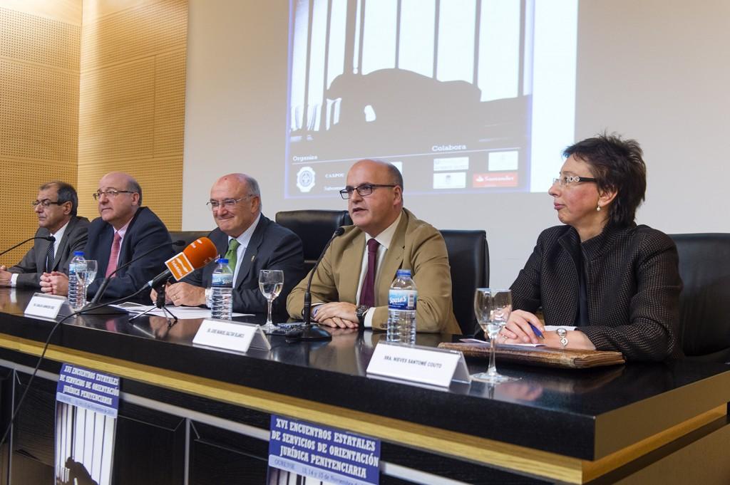 Manuel Baltar, nos XVI Encontros estatais de orientación xurídica penitenciaria