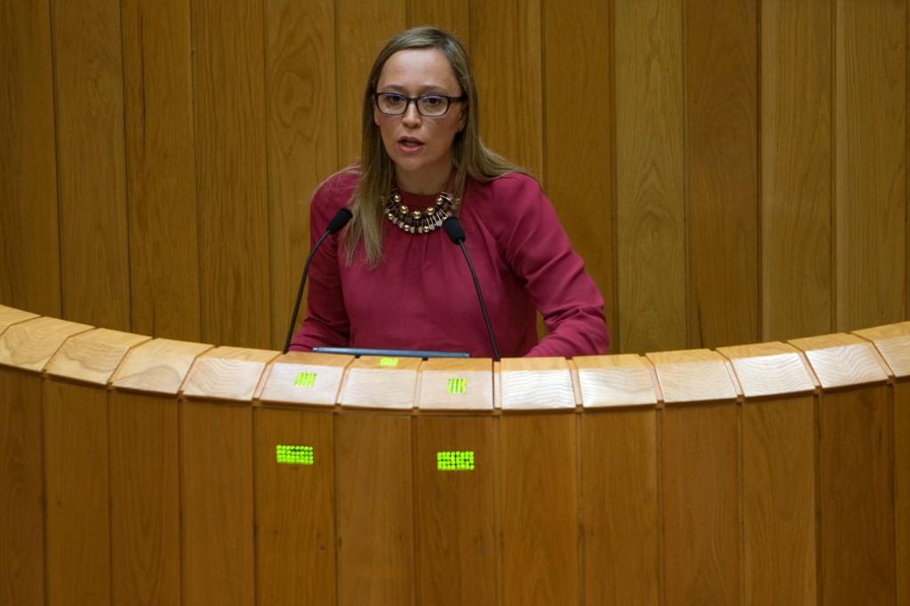 Muñoz Fonteriz no Parlamento de Galicia