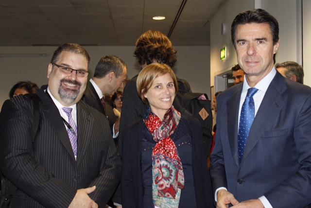 Nava Castro e Carmen Pita viaxaron a Londres para manter encontros cos profesionais do sector