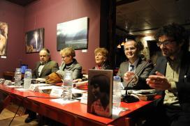 O conselleiro de Cultura e Educación participou na presentación dun libro sobre a traxectoria vital e literaria de Luz Pozo Garza