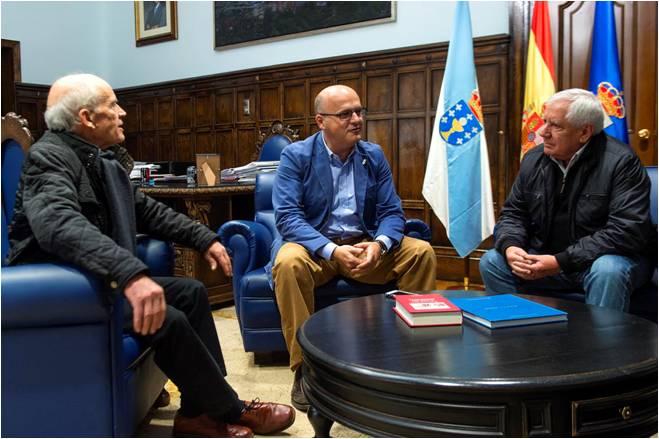 Olegario Sotelo Blanco ultima con Manuel Baltar as condicións e ubicación desta infraestrutura cultural