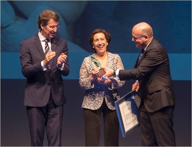 Premios Ourensania Victoria Prego
