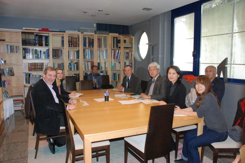 Turismo de Galicia celebra un novo encontro con representantes da ruta de peregrinación de Shikoku