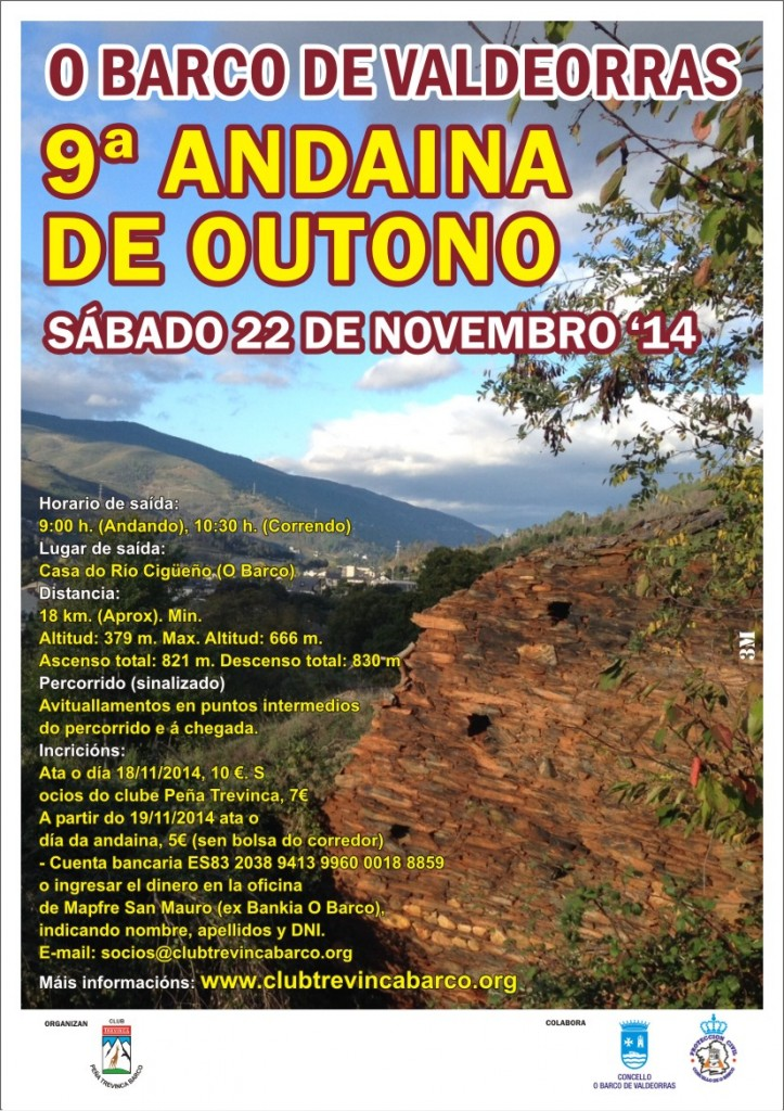 IX Andaina de Outono do Barco de Valdeorras