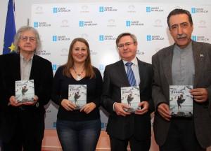 """A escritora ourensana Yolanda López ofreceu un recital poético na Casa de Galicia en Madrid, en torno ao poemario """"Tántalo"""""""