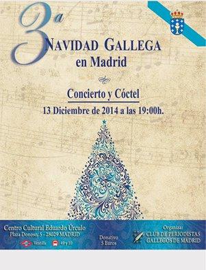 3ª Navidad Gallega en Madrid