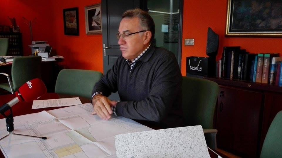 Alfredo García, Alcalde de O Barco
