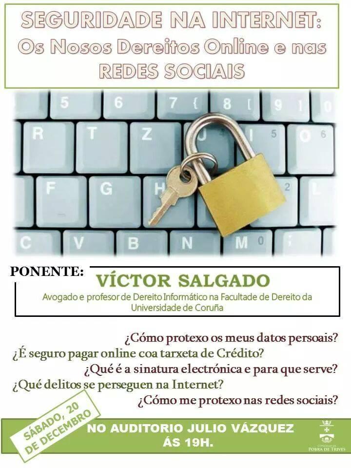 Curso de seguridade nas redes sociais