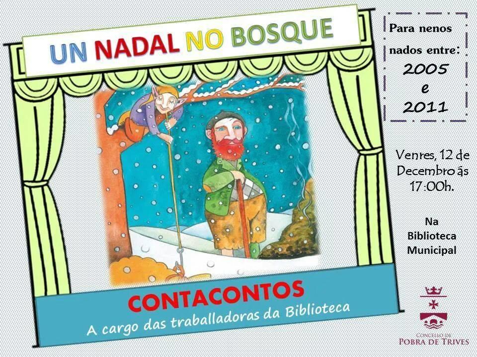 'Un Nadal no Bosque', contacontos en A Pobra de Trives
