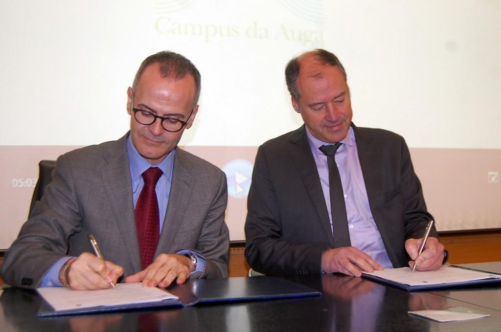 A Consellería de Cultura, Educación e Ordenación Universitaria deu hoxe o paso definitivo para que o proxecto de Campus da Auga de Ourense se converta nunha realidade