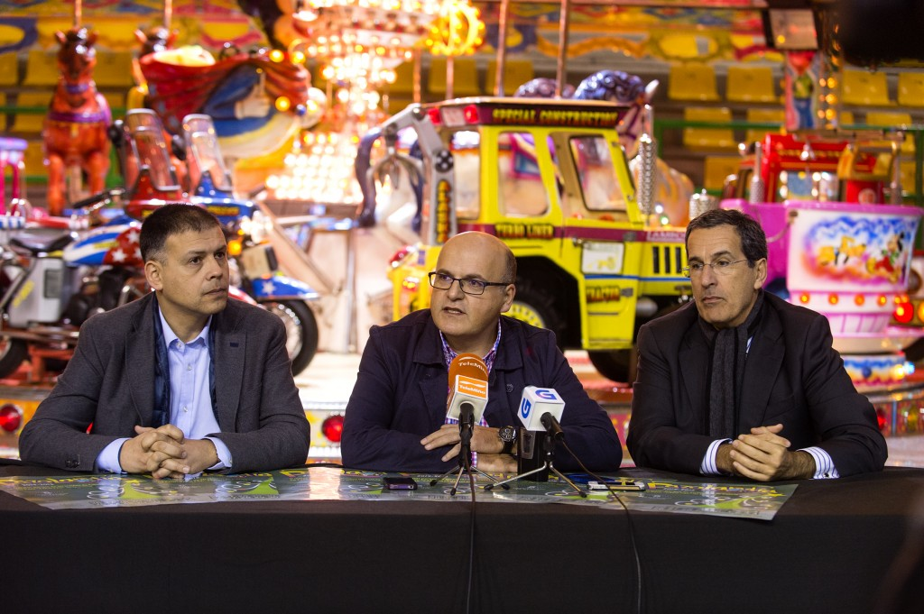 Bernardino González, Manuel Baltar e Ángel Cid