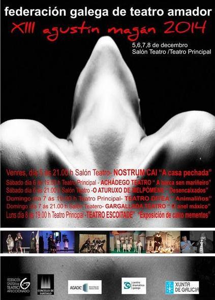 Gargallada Teatro foi seleccionada para participar na XIII Mostra Agustín Magán que convoca a Federación Galega de Teatro Amador