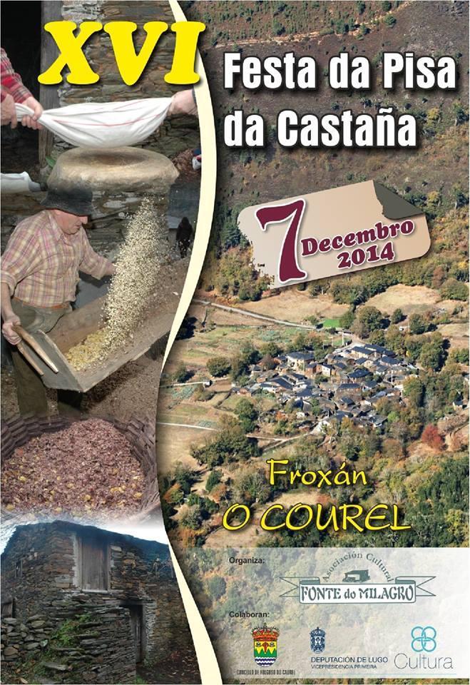 Festa da Pisa da Castaña 2014 en Folgoso do Courel