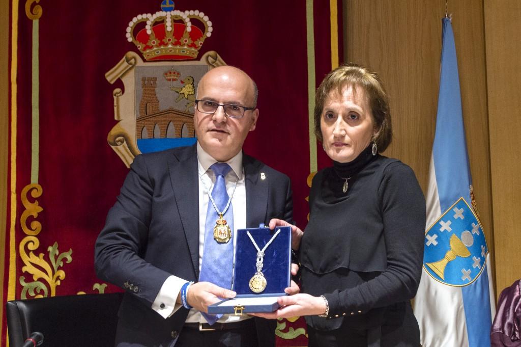 Manuel Baltar e María Xosé Picouto