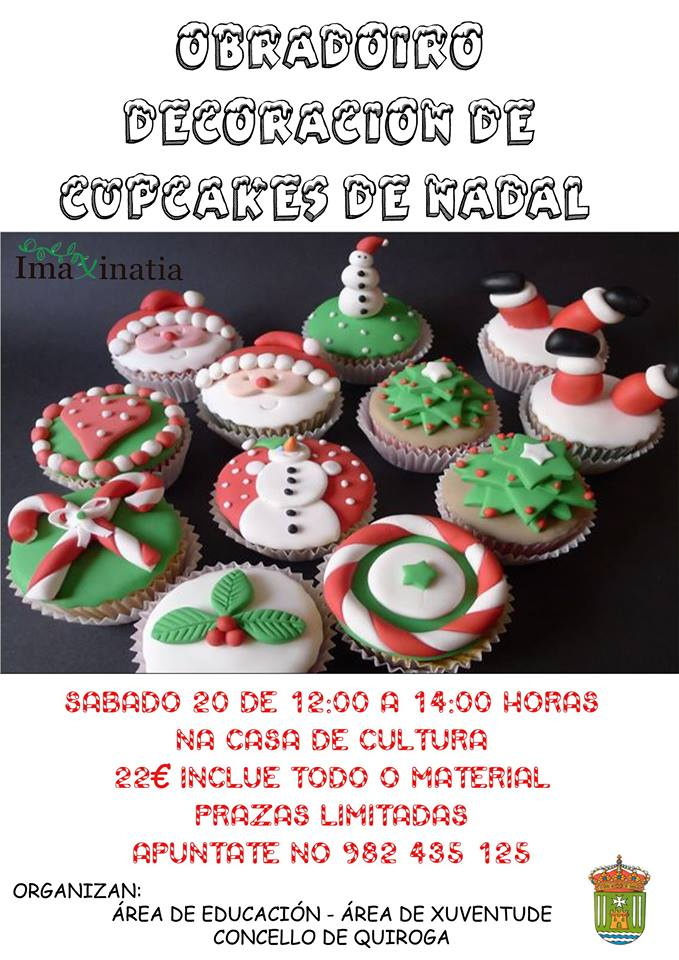Obradorio decoración de cupcakes