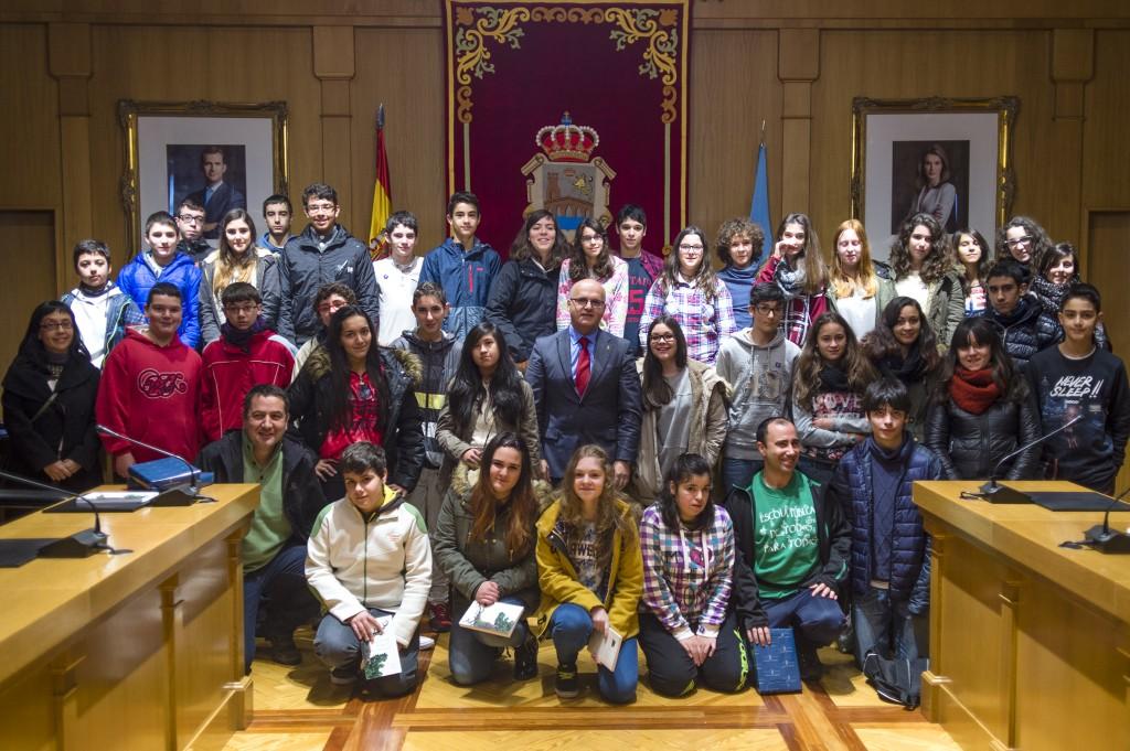 Pleno xuvenil na Deputación de Ourense