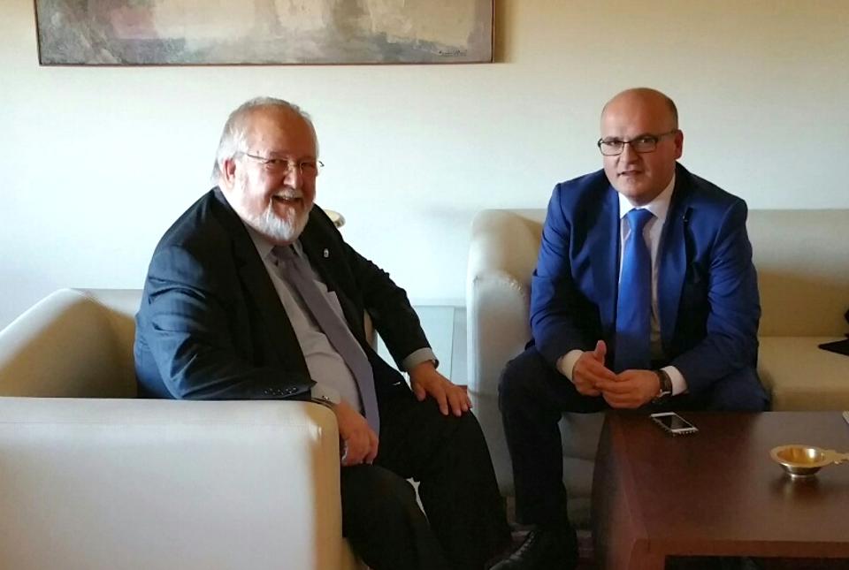 Salvador Esteve e Manuel Baltar
