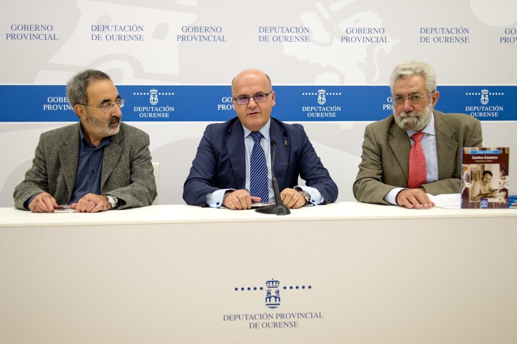 Xabier Casares, Manuel Baltar e Bieito Ledo