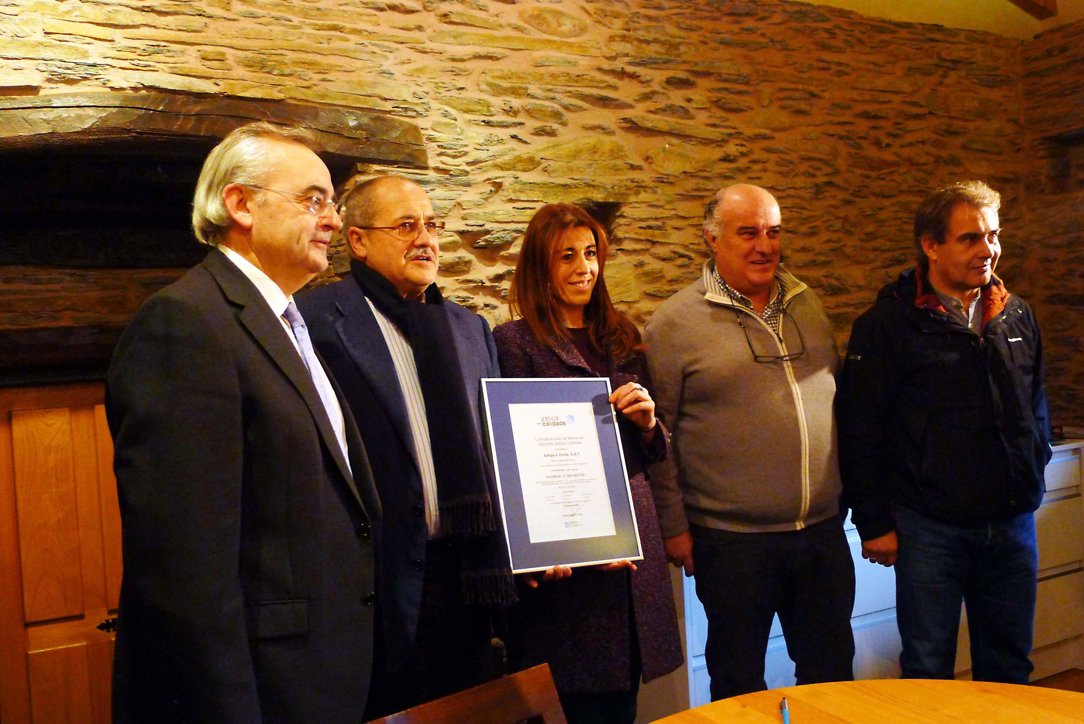 Galicia Calidade en a Adega A Coroa