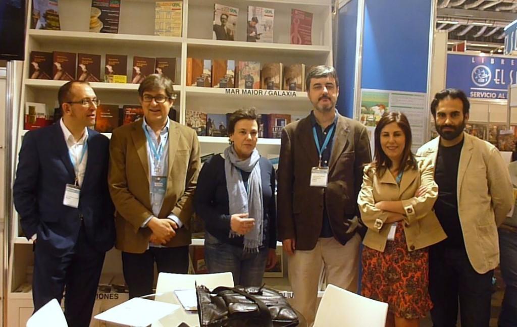 Escritores e ilustradores difunden a literatura galega na Feira do libro de Guadalaxara co apoio da Consellería de Cultura e Educación