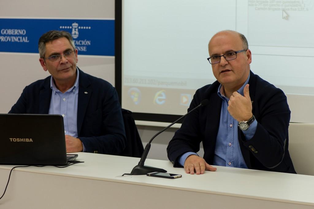 José Fírvida e Manuel Baltar